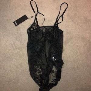 Nasty Gal lace body suit